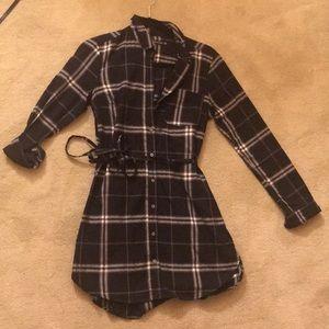 NWOT Abercrombie shirt dress